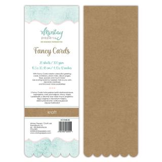 Mintay Papers Fancy Cards Kraft 02