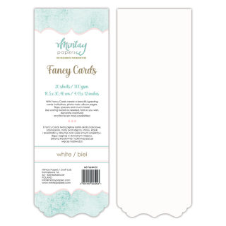 Mintay Papers Fancy Cards White 01