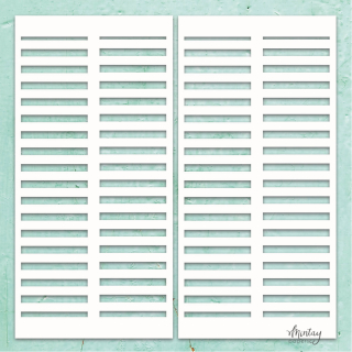 Mintay Chippies Chipboard Decor Shutters