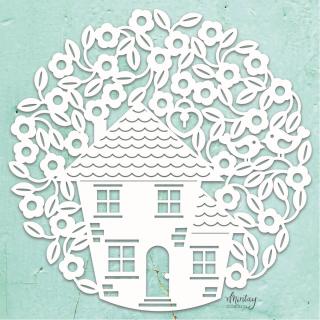 Mintay Chippies Decor Filigree Tree House