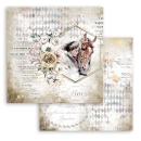 Stamperia 12x12 Inch Paper Pack Romantic Horses
