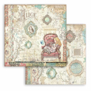 Stamperia 6x6 Inch Paper Pack Alice Through the Looking...