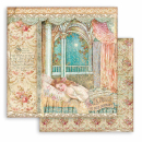 Stamperia 6x6 Inch Paper Pack Sleeping Beauty