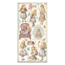 Stamperia Collectables Alice Through the Looking Glass