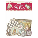Stamperia Clear Die-Cuts Alice Charms