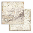 Stamperia 8x8 Inch Paper Pack Backgrounds Sir Vagabond in Japan