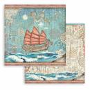 Stamperia 12x12 Inch Paper Sir Vagabond in Japan
