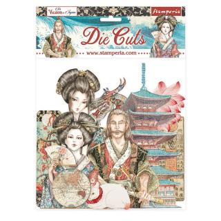Stamperia Die-Cuts Sir Vagabond in Japan