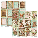 Mintay 6x6 Paper Pad Woodland