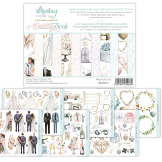 Mintay Papers 6x8 Inches Wedding Book