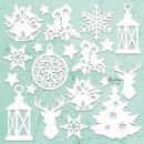Mintay Chippies Decor Christmas Mix