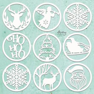 Mintay Chippies Decor Christmas Circles