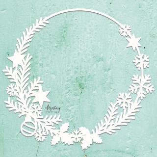 Mintay Chippies Decor Christmas Wreath
