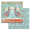 Stamperia 12x12 Inch Paper Pack Christmas Patchwork