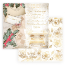 Stamperia 12x12 Inch Paper Pack Romantic Christmas