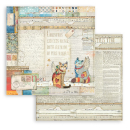 Stamperia 6x6 Inch Paper Pack Christmas Patchwork