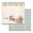 Stamperia 6x6 Inch Paper Pack Pink Christmas