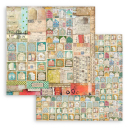 Stamperia 8x8 Inch Paper Pack Christmas Patchwork