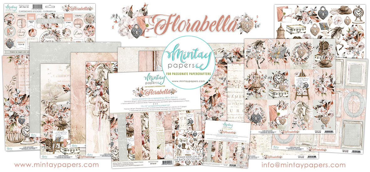 Mintay Papers Florabella Collection