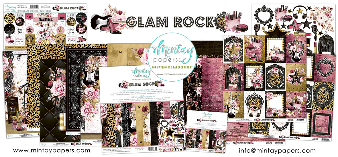 Mintay Papers Glam Rock Collection