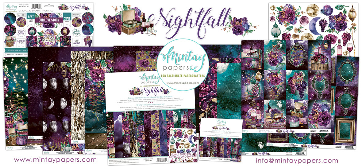 Mintay Papers Nightfall Collection