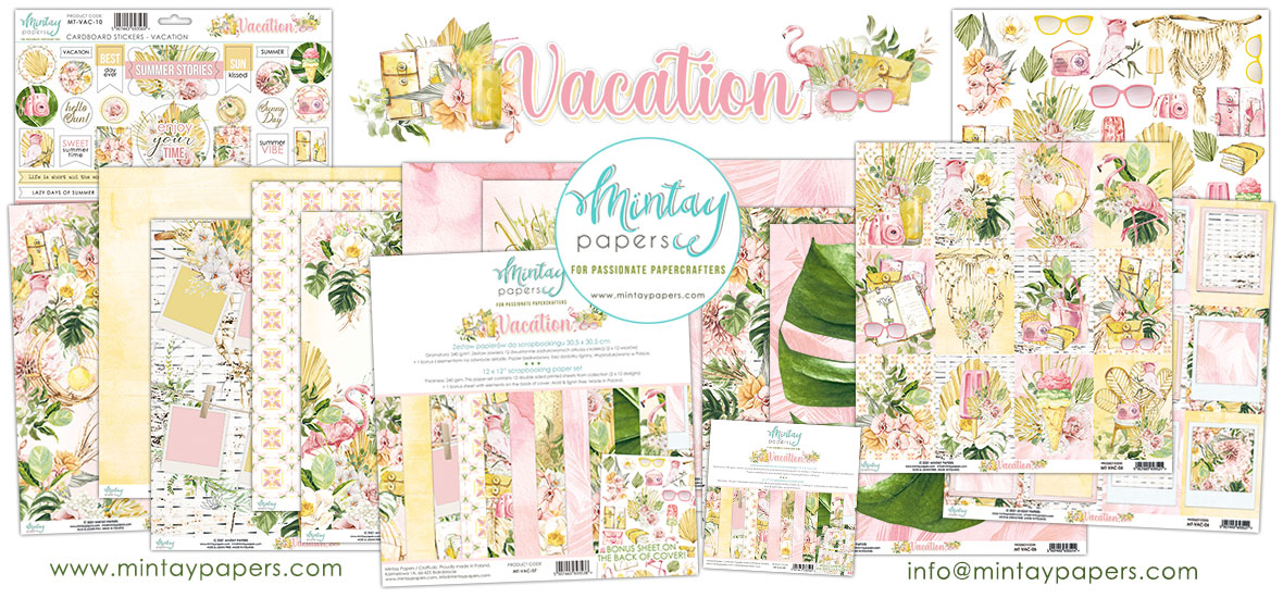 Mintay Papers Vacation Collection